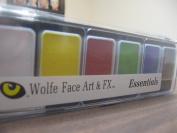 Wolfe 6 Colour Palette/Face Paint Kit