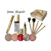 Jerome Alexander High Definition 13 Piece Gold Makeup Kit Gift