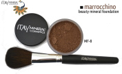 "ITAY Beauty 100% Natural Mineral 9gr Colour - MF20cm Marrocchino"" Foundation + * * Application Brush"