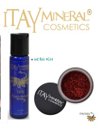 ITAY Mineral Cosmetics Liquid Sparkle Bond + Glitter Powder G14 Red Flair