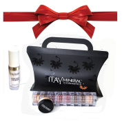 "ITAY Beauty Mineral 8xStacks ""Nature"" + ITAY Hydra-Pure Eye Serum + Free Sample Size Foundation MF-3 Cafe Au Lait + Gift Box"