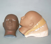 Charlene Erasable Make-up Mannequin Mask Kit - Light Skin Tone, Open Eyes