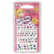 Little Fing'rs Girlie Nails Nail Art, Variety Pack