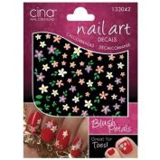 CinaPro Nail Creations 3-D Decals Blush Petals