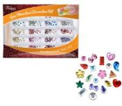 CinaPro Nail Creations Gem Rhinestone Decoration Kit