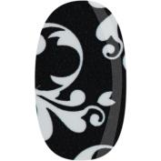 Donna Bella Fancy Florentine Black and White, Nail Foils, Nail Stickers, 30ml