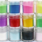 350buy 24 Colours Acrylic Powder Builder Nail Art Jumbo Size
