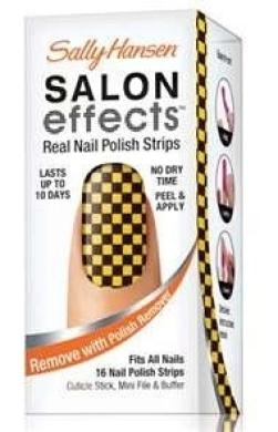Sally Hansen Salon Effects - 801 Sound Cheque - Avril Lavigne Design