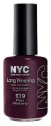NYC new york colour long wearing nail enmael 139b Plaza Plumberry