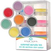 STAR NAIL Coloured Acrylic Kit