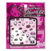 Hello Kitty DJ Nail seal kirakira CDK-02