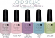 CND Shellac UV Nail Gel Polish Spring Summer Sweet Dreams 2013 Collection 5 Colour Set