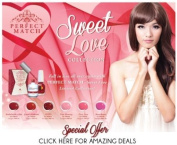 Perfect Match 6 New Gel and Lacquer SWEET LOVE COLECTION by Lechat