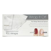 Hand & Nail Harmony Gelish - WRAP IT OFF - FOIL REMOVAL KIT 100CT FOILS