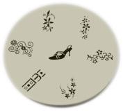 Konad Stamping Nail Art Image Plate - M9