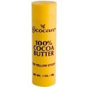 Cococare, 100% Cocoa Butter, The Yellow Stick, 30ml
