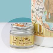 Dolce Mia Hula Couple Tropical Citrus Shea Butter Travel Size Natural Lotion With Organic Botanicals 5ml Jar