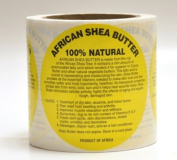 African Shea Butter Labels Pack of 12