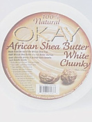 OKAY 100% Natural African Shea Butter White Chunky 300ml