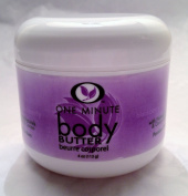 One Minute Body Butter With Natural Shea & Cocoa Butter - Blackberry 120ml