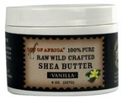 Out Of Africa - Raw Wild Crafted 100% Pure Shea Butter Vanilla - 240ml