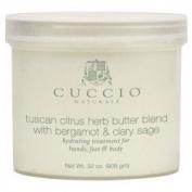 Cuccio Tuscan Citrus Herb Butter Blend w/ Bergamot & Clary Sage 950ml