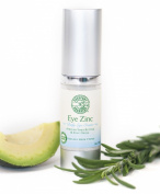 Eye Zinc - Organic eye cream with Zinc oxide, African Shea Butter to protect and nourish - Paraben free 15ml