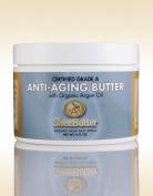 Natural Anti-Ageing Butter Unrefined Certified Grade A Shea Butter and Organic Unrefined Argan Oil Blend 240ml