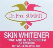 DR. FRED SUMMIT Skin Whitener Tone and Bleach Cream 120ml/113.4g