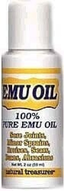 B.N.G. Natural Treasures 100% Pure Emu Oil 60ml