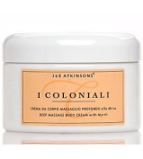 I Coloniali Deep Massage Body Cream with Myrrh 200ml cream