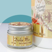 Dolce Mia Vintage Hawaiian Tropical Citrus Shea Butter Travel Size Natural Lotion With Organic Botanicals 5ml Jar