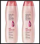 Lot of 2 Avon Skin So Soft SSS Soft & Sensual Ultra Moisturising Body Lotion 350mlea