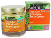 Alaffia Shea Butter Antioxidant Body Cream Lavender Spice -- 120ml