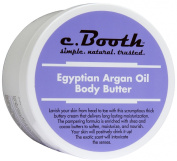 C. Booth Body Butter, Egyptian Argan Oil 240ml