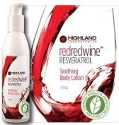 RedRedWine Resveratrol Soothing Body Lotion - 180ml - Cream