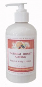 Oatmeal Honey Almond Aromatherapy Hand & Body Lotion - 270ml
