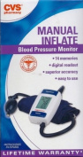 CVS MANUAL Inflate Blood Pressure Monitor BPA50-CVS