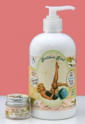 Dolce Mia Golden Girl Tuberose Shea Butter Natural Lotion With Organic botanicals 350ml Pump