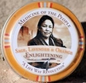 3 Tins of Navajo Medicine Of The People Sage Lavender & Orange Enlightening Balm 20ml each, Outstanding Product