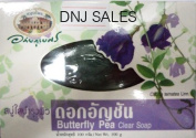 Buttefly PEA Clear Soap Health Beauty Face Body New Sealed 100g 1 Bar From Thailand