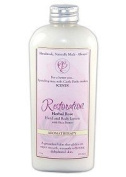 Castle Baths - Restoration Hand and Body Lotion with Shea Butter - 180ml - Geranium Rose Sage