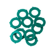 Gilmour 01CW10GT 10-Pack Green Thumb Hose Washers