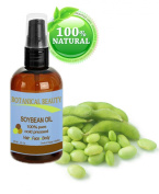 Botanical Beauty Soybean Oil, 100% Pure, Cold Pressed.. 1 oz-30 ml
