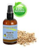 Botanical Beauty Sesame Oil, 100% Pure, Cold Pressed.. 2 oz-60 ml