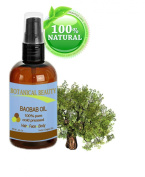 Botanical Beauty Baobab Oil, 100% Pure, Cold Pressed.. 2 oz-60 ml