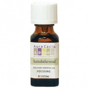 Aura Cacia 55363 Sandalwood Essential Oil