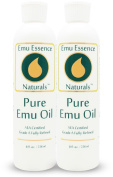 Emu Essence Pure Emu Oil 240ml Twin Pack AEA Certified