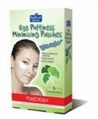 Purederm Eye Puffiness Minimising Patches GINKGO (4 treatments)