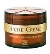 Yves Rocher FRANCE Riche Creme Wrinkle Smoothing Eye Creme with 30 Precious Oils, 15ml jar (+50 years).